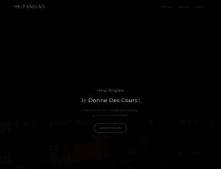 helpanglais.fr screenshot