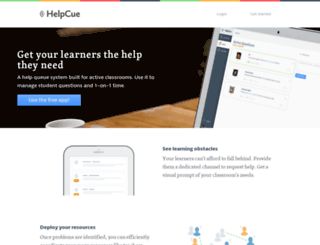 helpcue.com screenshot