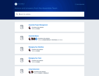 helpdesk.assembla.com screenshot
