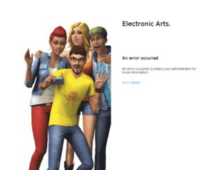 helpdesk.ea.com screenshot