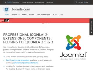 helpdesk.ijoomla.com screenshot