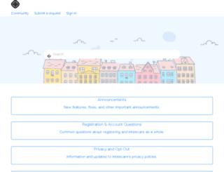 helpdesk.intelecare.com screenshot