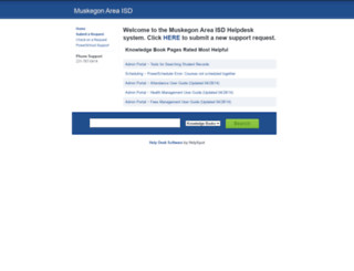 helpdesk.muskegonisd.org screenshot