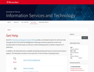 helpdesk.rpi.edu screenshot