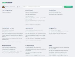 helpdesk.socialquantum.com screenshot