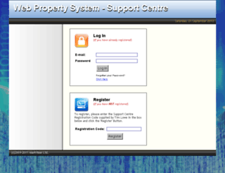 helpdesk.webpropertysystem.net screenshot