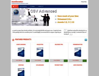 helpdeskpro.joomdonation.org screenshot