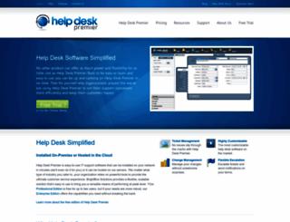 helpdesksoftware.biz screenshot