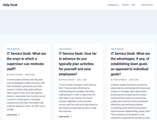 helpdesksurvival.com screenshot