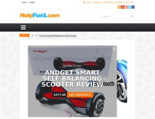 helpfield.com screenshot
