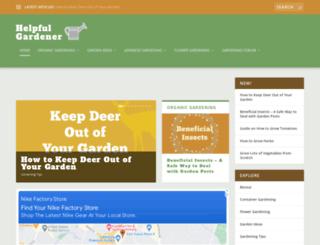 helpfulgardener.com screenshot