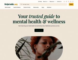 helpguide.org screenshot