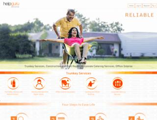 helpguru.com screenshot