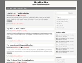 helphealaustin.com screenshot