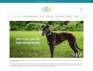 helpinggreyhounds.org screenshot