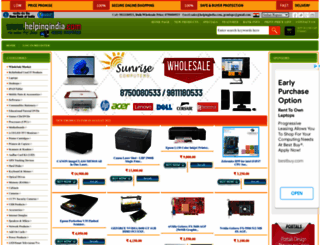 helpingindia.com screenshot