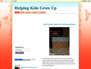 helpingkidsgrowup.blogspot.ca screenshot