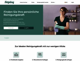 helpling.de screenshot
