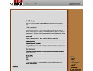helpmax.net screenshot