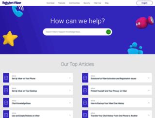 helpme.viber.com screenshot
