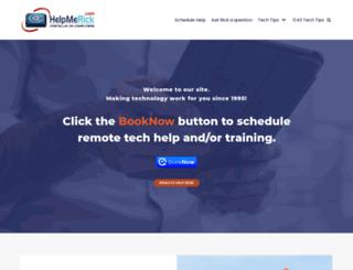 helpmerick.com screenshot