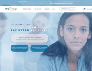 helptherapist.com screenshot