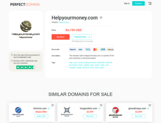 helpyourmoney.com screenshot