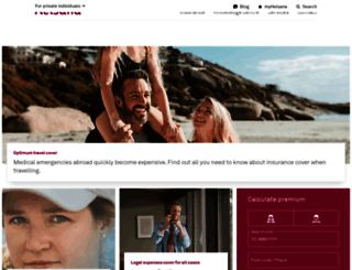 helsana.ch screenshot