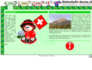 helvetiaproducts.ch screenshot