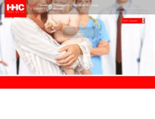 helveticahealthcare.com screenshot