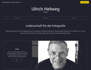 helweg-fotodesign.de screenshot