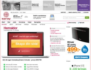 hem.spray.se screenshot