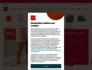 hema.fr screenshot