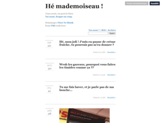 hemademoiseau.tumblr.com screenshot