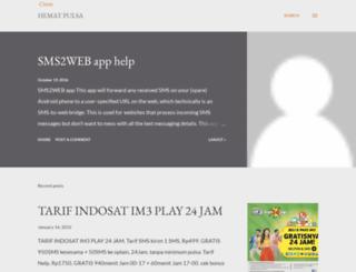 hemat-pulsa.blogspot.com screenshot
