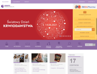 hematoonkologia.pl screenshot
