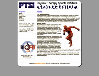 hemetphysicaltherapy.com screenshot