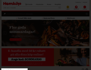 hemkop.se screenshot