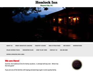 hemlockinn.com screenshot