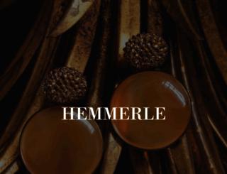 hemmerle.com screenshot