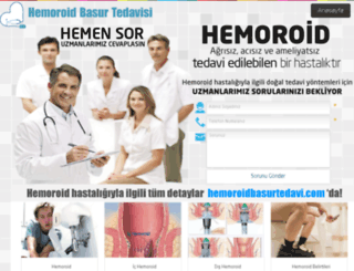 hemoroidbasurtedavi.com screenshot