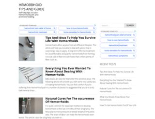 hemorrhoid-tips.com screenshot