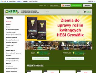 hemp.pl screenshot