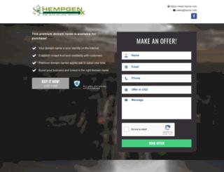 hempgenx.com screenshot