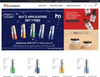 hempmeds.com screenshot