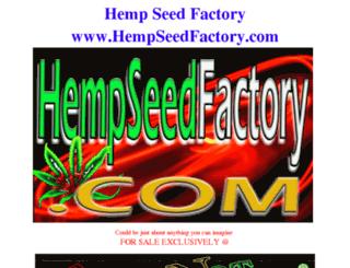 hempseedfactory.com screenshot