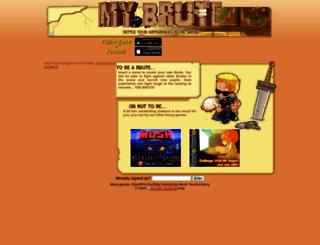 hemul42.mybrute.com screenshot