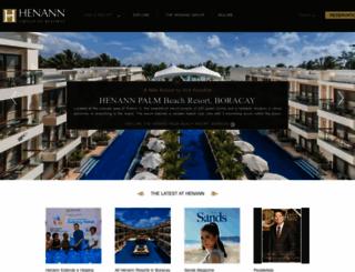 henann.com screenshot