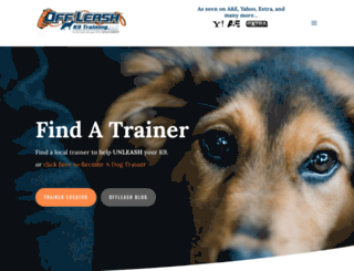 hendersondogtrainers.com screenshot