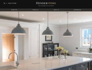 henderstone.co.uk screenshot